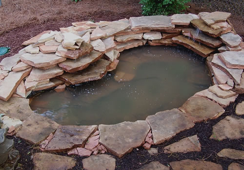 How To Build a Garden Pond With a Waterfall