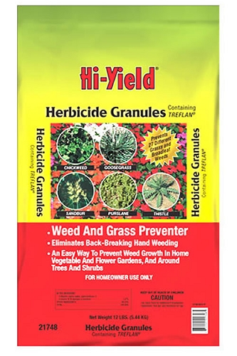 Hi-Yield Herbicide Granules Weed and Grass Stopper