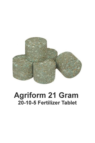 5-Pack of 21 Gram Agriform 20-10-5 Fertilizer Tablets