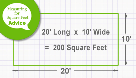 How To Measure And Calculate The Total Square Feet In A Planting Area