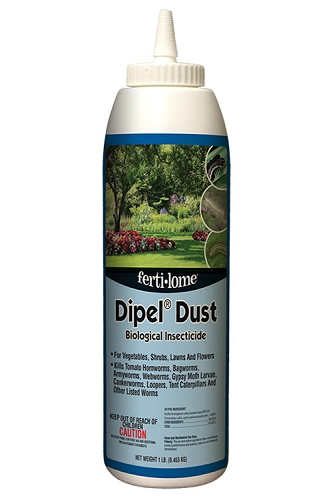 Fertilome Dipel Dust Biological Insecticide