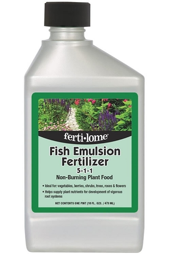 Fertilome Fish Emulsion Plant Food 5-1-1