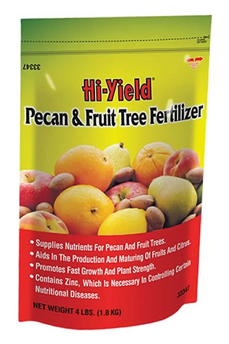 Hi-Yield Pecan and Fruit Tree Fertilizer 12-4-4
