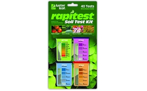 Rapitest Soil Test Kit - 40 Tests