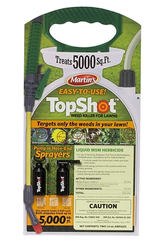 Top Shot MSM Lawn Weed Killer