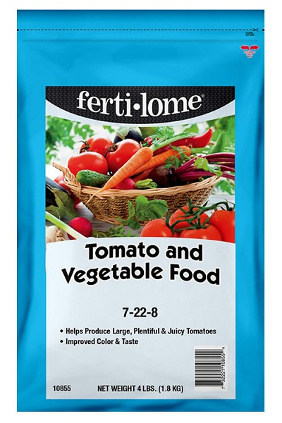 Fertilome Tomato and Vegetable Food 7-22-8