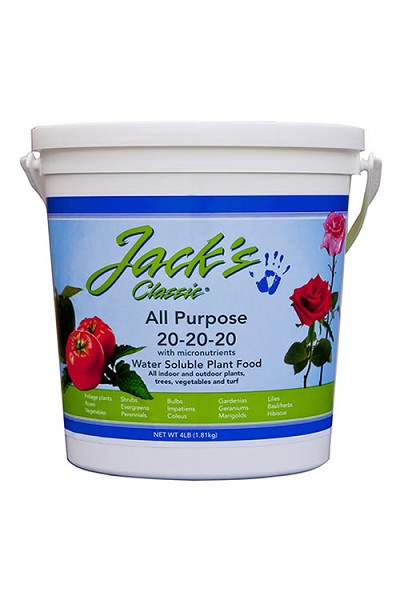 Jacks All Purpose 20-20-20 Plant Food